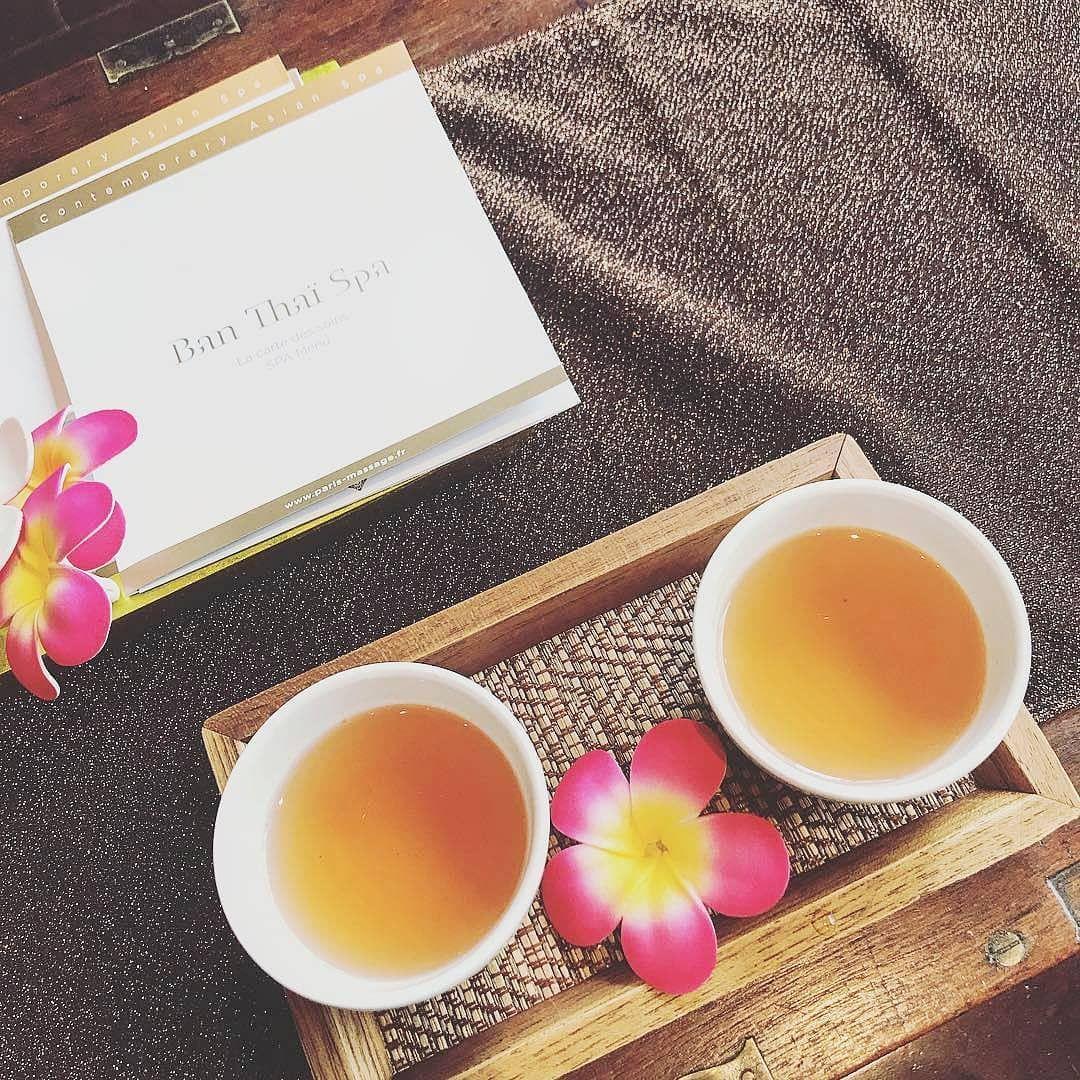 Chez Ban Thai Spa Savourez Un Veritable Moment De Relaxation Du Debut A La Fin Apres Chaque Soin Degustez Un Delicieux The Pour Completer Votre R Avec Images Spa Relax