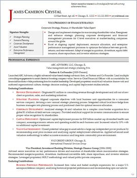 vp finance resume page 1 executive resumes pinterest executive