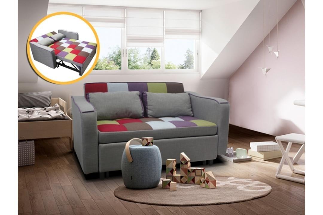 Reef Sofa Bed W 2 Throw Cushions Detachable Interior Design