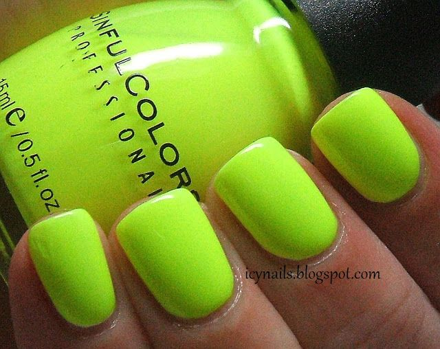 Sinful Colors Neon Melon ... aka the greatest neon highlighter ...