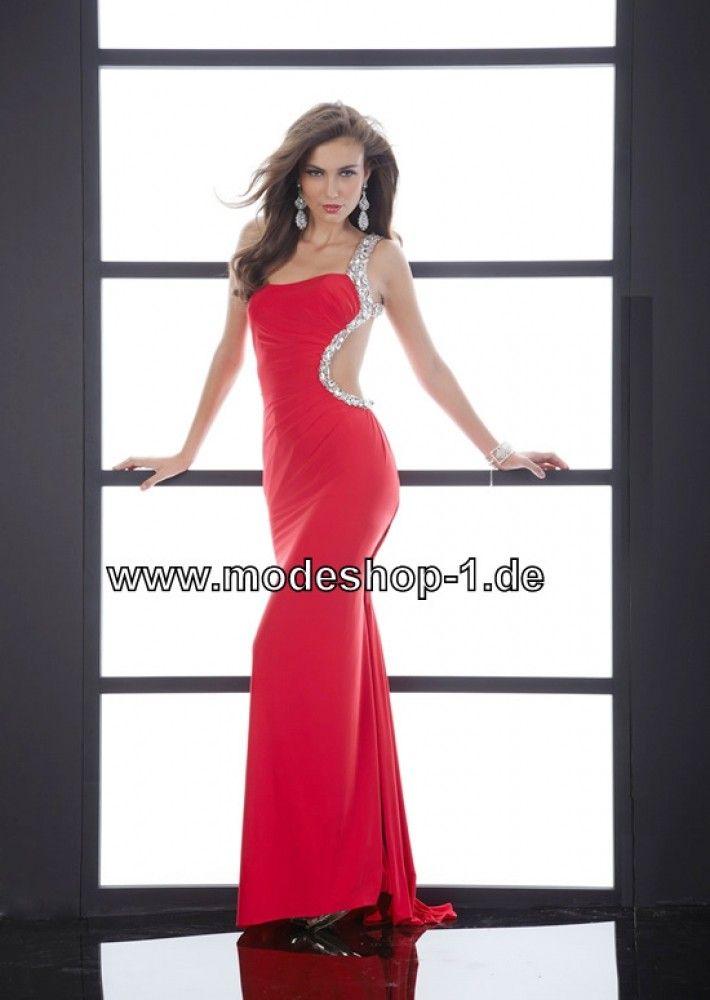 Rotes Abendkleid 2018 mit Sexy Rücken Ausschnitt | Kleider ...