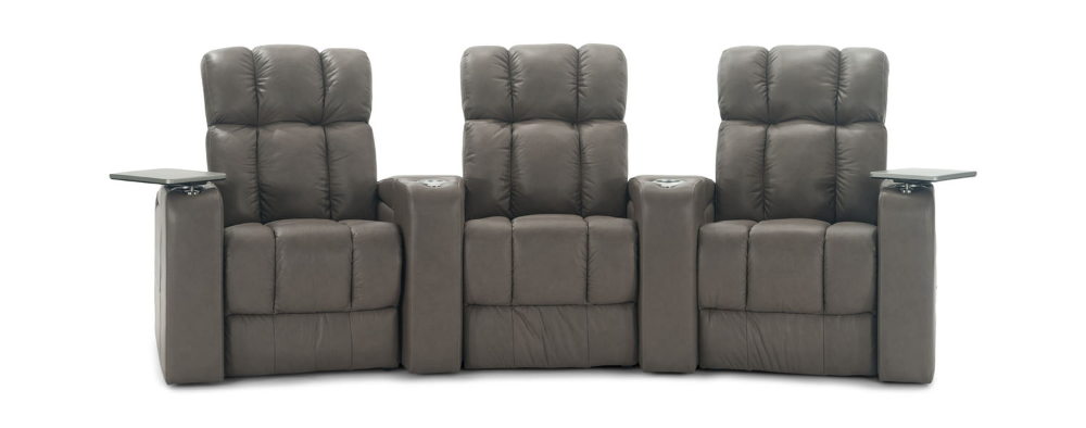 Ovation 3 Piece Leather Power Reclining Home Hom Furniture In 2020 Power Recliners Hom Furniture Recliner
