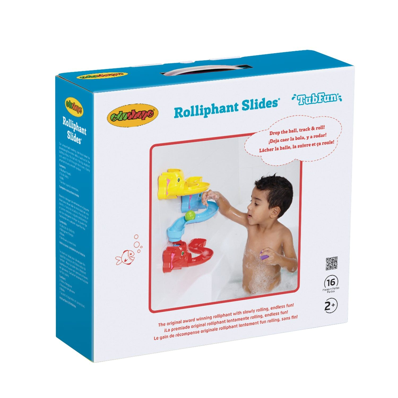 Edushape Rolliphant Slides Bath Toy Bath Toys Bathtub Toys Kids Playground