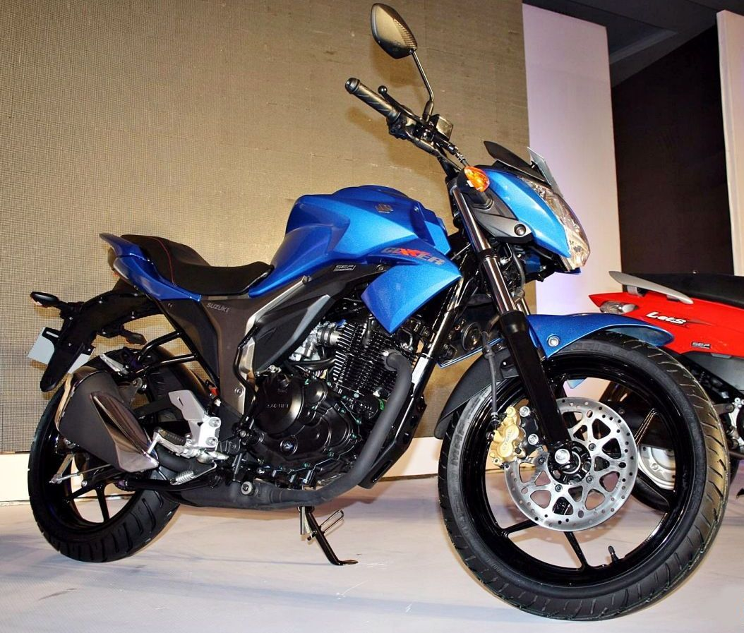 SuzukiGixxer.. The bike is powered by a 155 cc, single