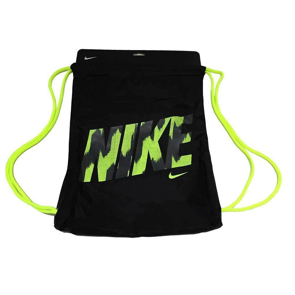 Nike Young Athletes Graphic Gymsack Farbe X3a Schwarz X2f Neon Gelb Schultertr Auml Ger Dienen Auch Als Kordelzugve Sportbeutel Nike Kleidung Accessoires