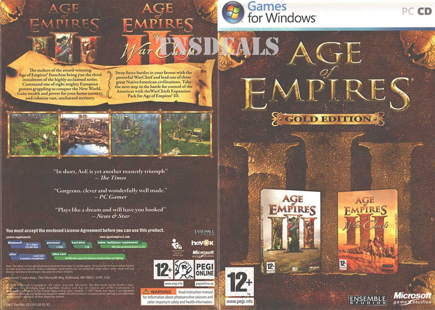 Age Of Empires Iii Gold Age Of Empires Iii