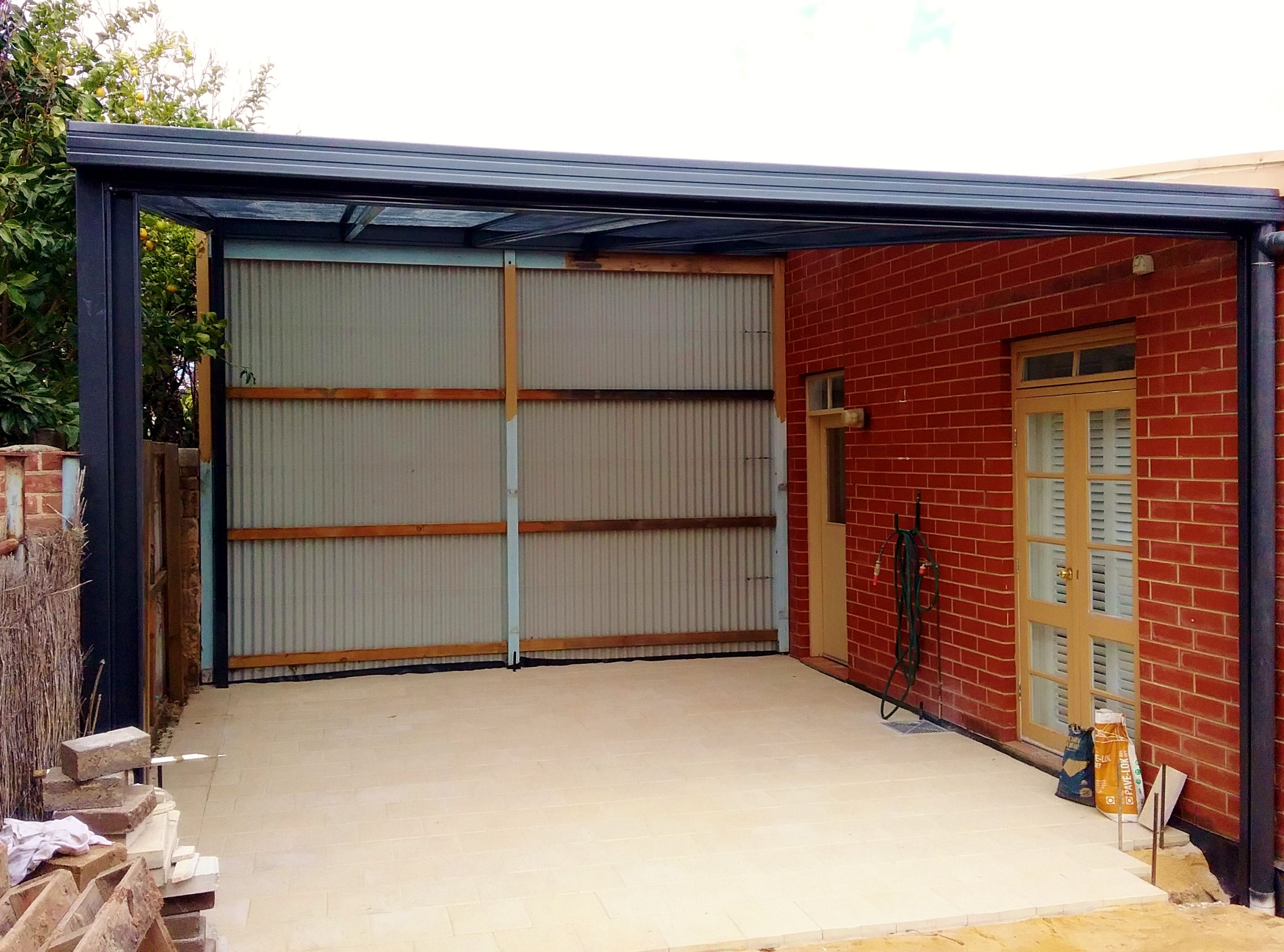DMV Carport Designs With Roller Door And Wall Plastering Adelaide SA |  Carport | DMV Outdoor Solutions | Pinterest | Carport Designs, Roller Doors  And Doors