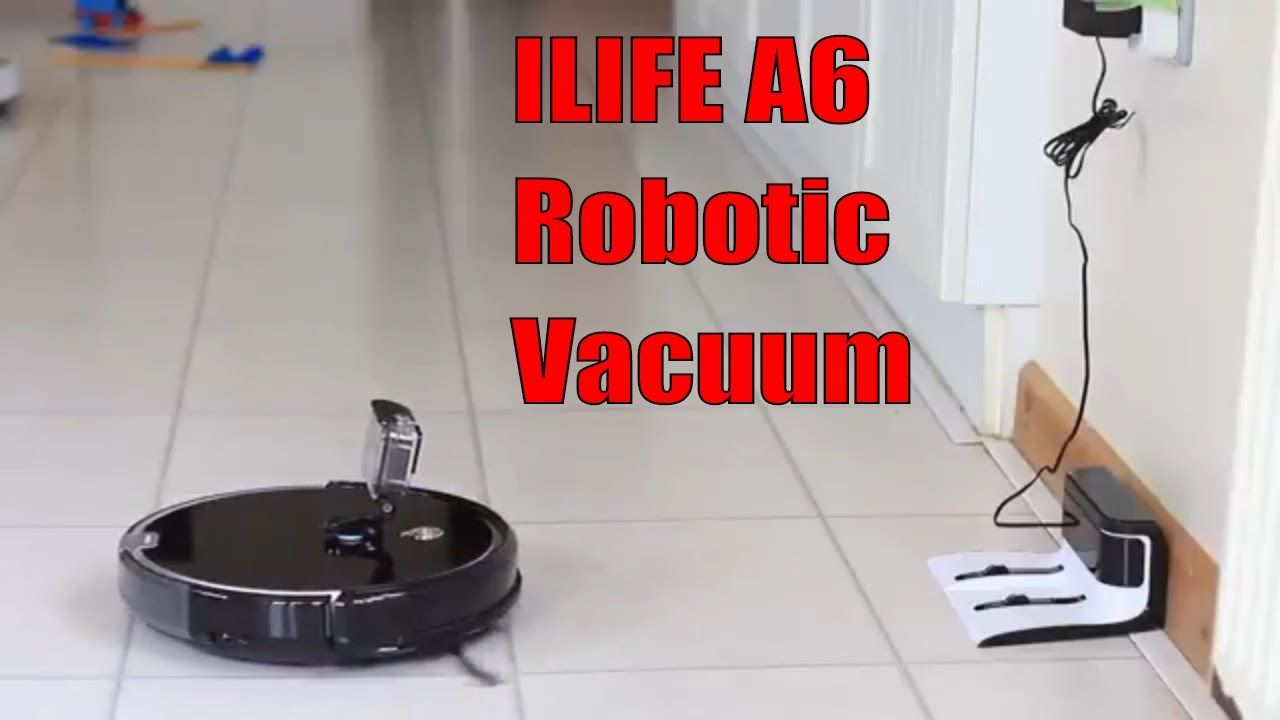 Hi Guys Today I M Reviewing The Ilife A6 Robotic Vacuum Cleaner Buy On Amazon Http Amzn To 2mszzf2 Robot Vacuum Vacuums Robot Vacuum Cleaner