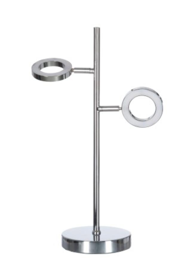 j line leeslamp led 2d metaal zilver
