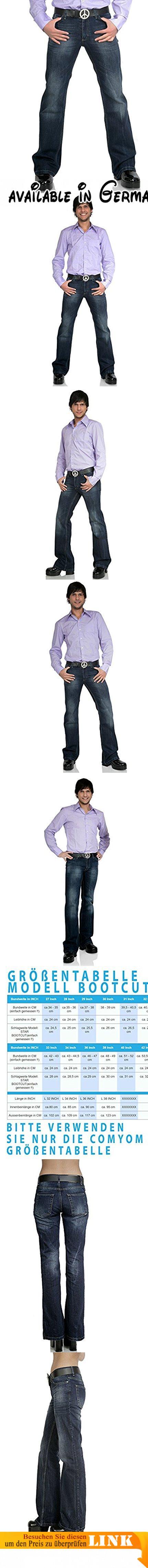 Bootcut Jeans Star Burn dunkelblau 34/36.  #Apparel #PANTS