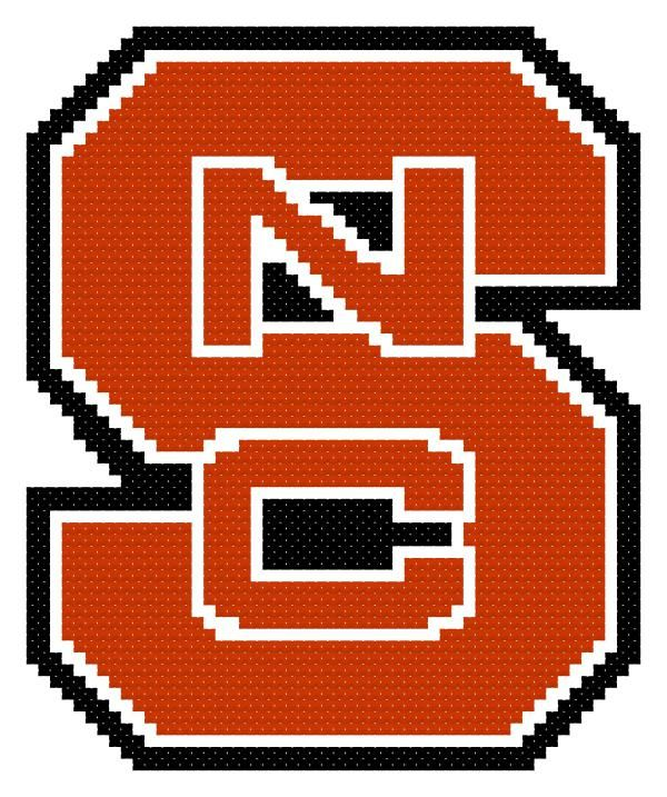 21445fa403a NCSU Cross Stitch Logo Pattern