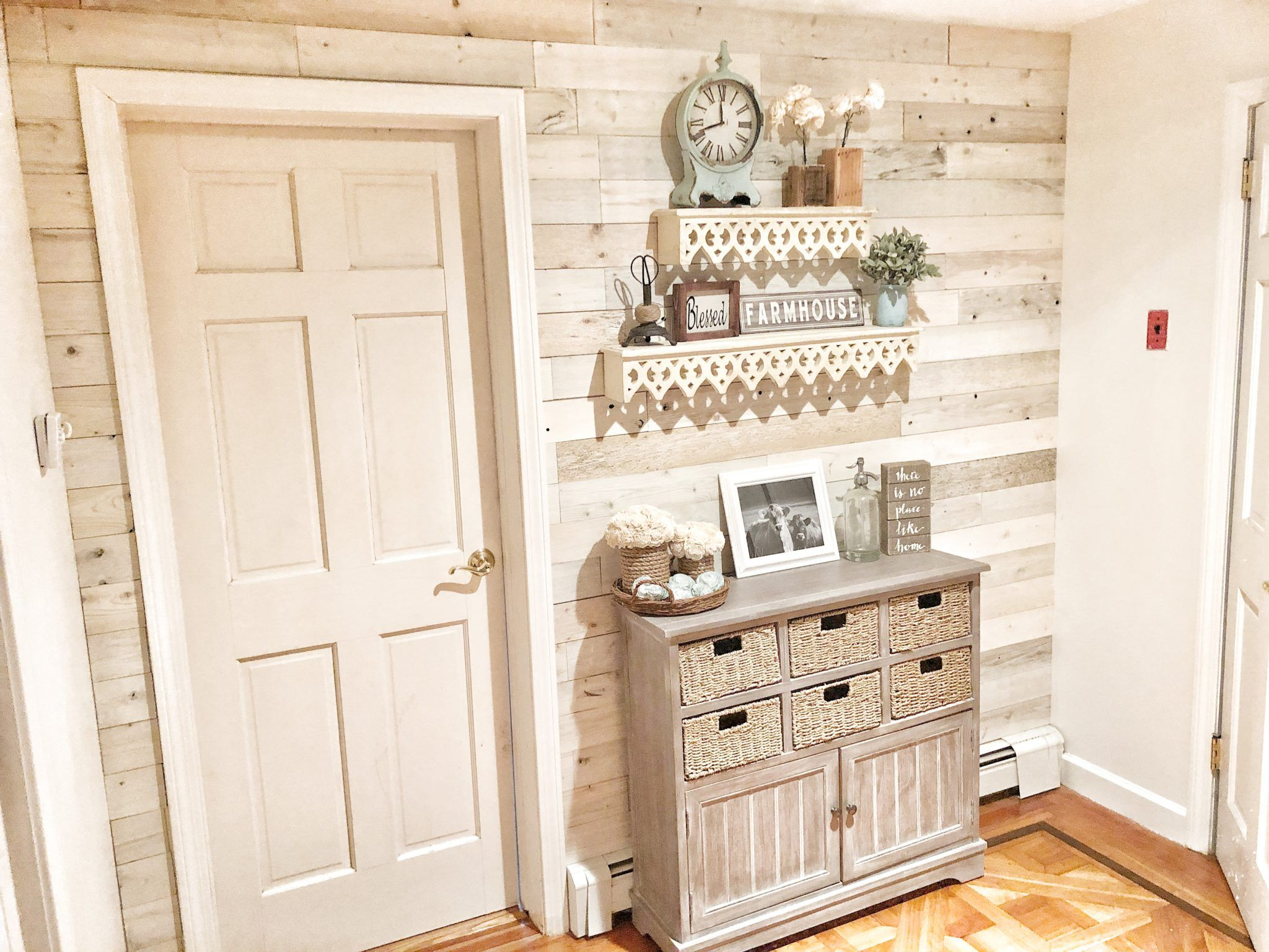 Reclaim Your Space With Images White Wood Paneling White Plank Walls Wood Panel Walls