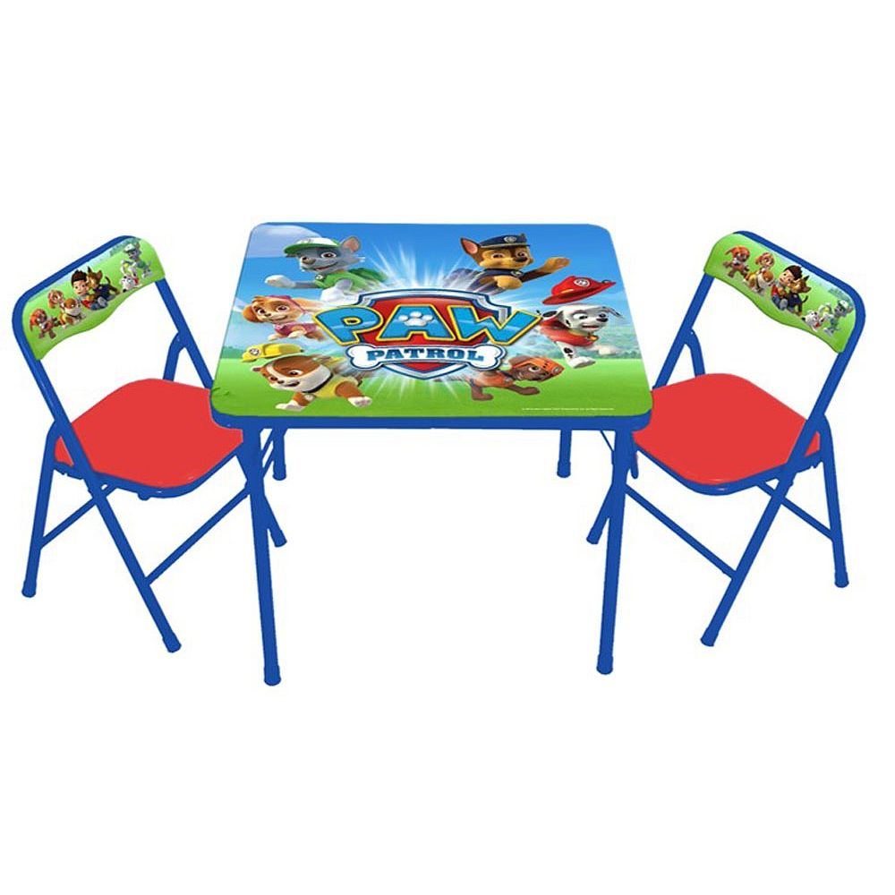 Pleasant Nickelodeon Paw Patrol Activity Table And Chair Set Jakks Creativecarmelina Interior Chair Design Creativecarmelinacom