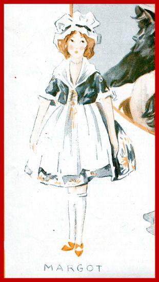 Frankowska doll. Femina 1921.