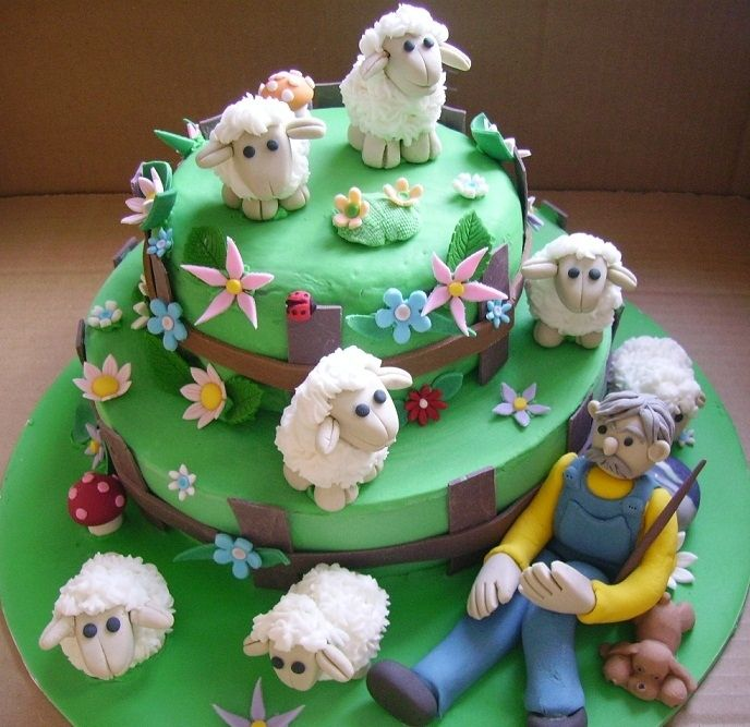 Pin By Patty Biss On Cakes Pinterest Cake Sheep Cake And