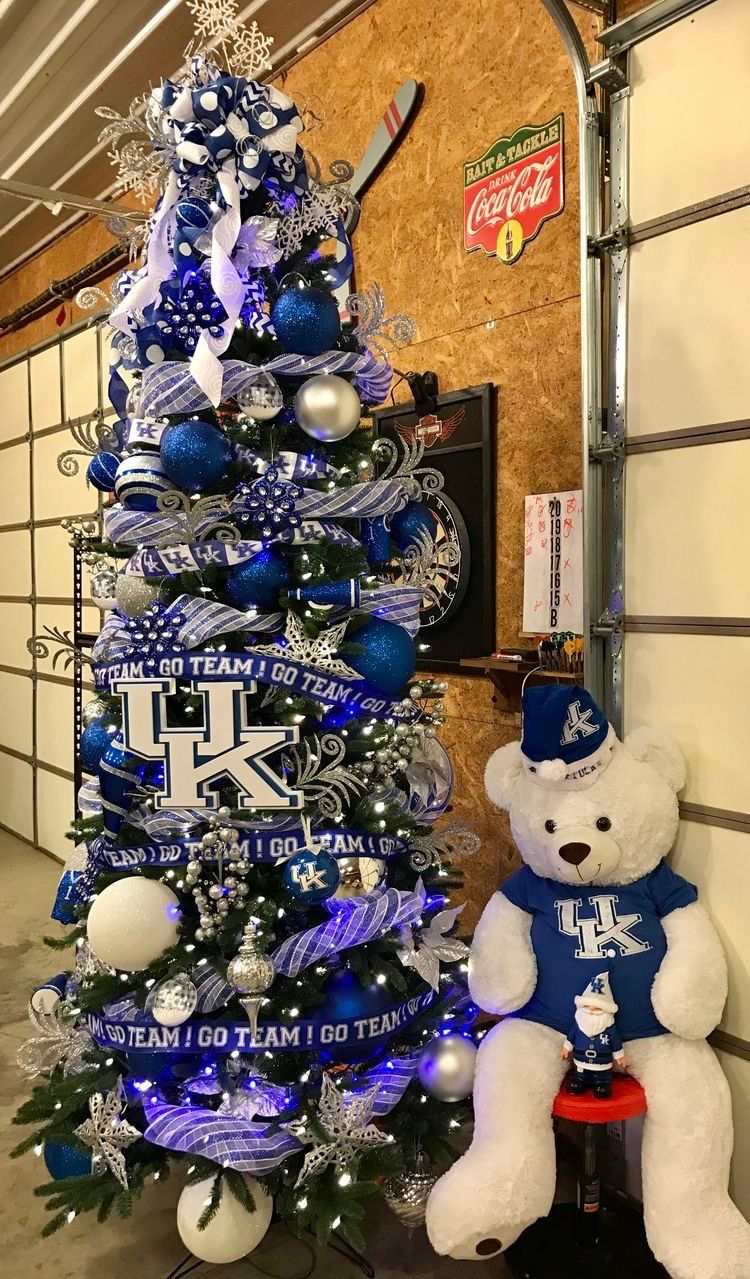Uk Christmas Tree Blue Christmas Christmas Tree Decorations My Old Kentucky Home