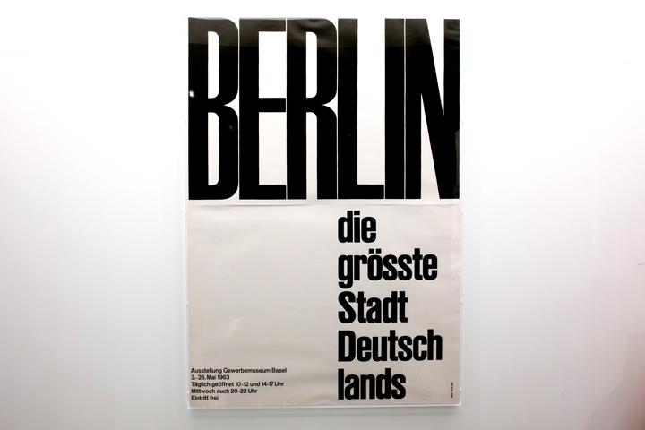 Emil Ruder Berlin Die Grosste Stadt Deutschlands 輸入ポスター専門店 Knapford Poster Market ナップフォード ポスター マーケット ポスター ヴィンテージポスター ギグポスター