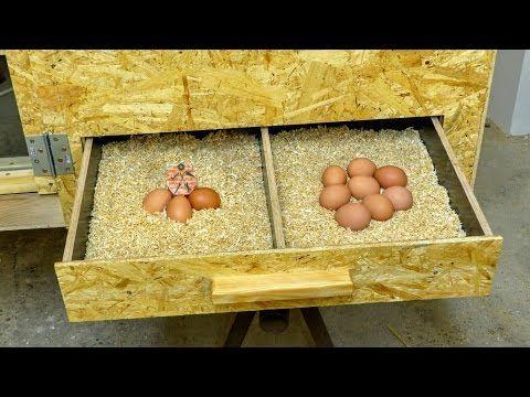 Kurnk 2 část Výroba DIY Hen house Chicken coop Part 2 Building