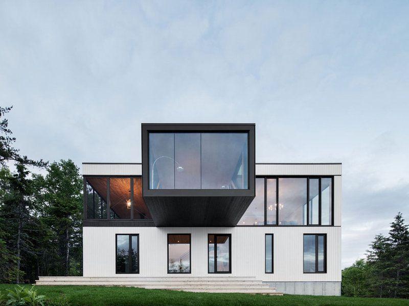 Una cabaña de diseño