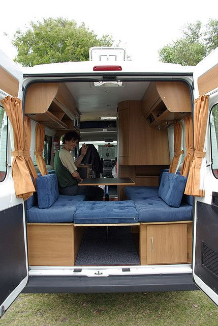 Campervan Inside Interior Cargo Trailer Camper Conversion