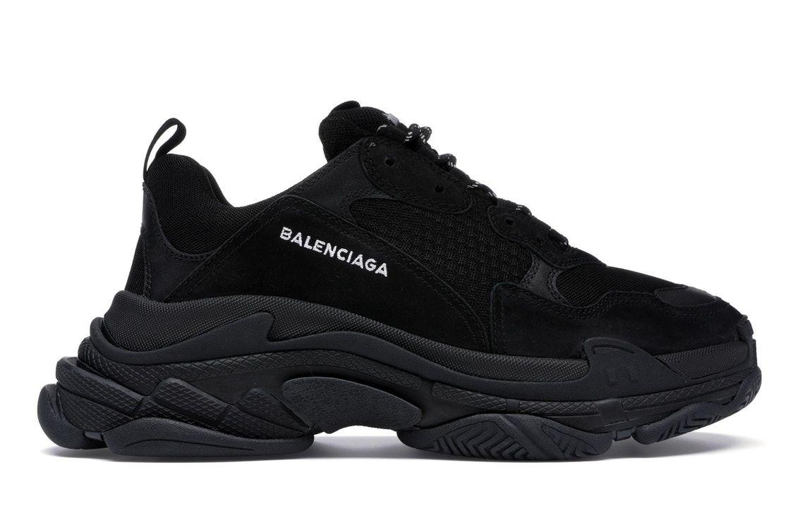 Noir Sneakers Womens's Balenciaga Triple S