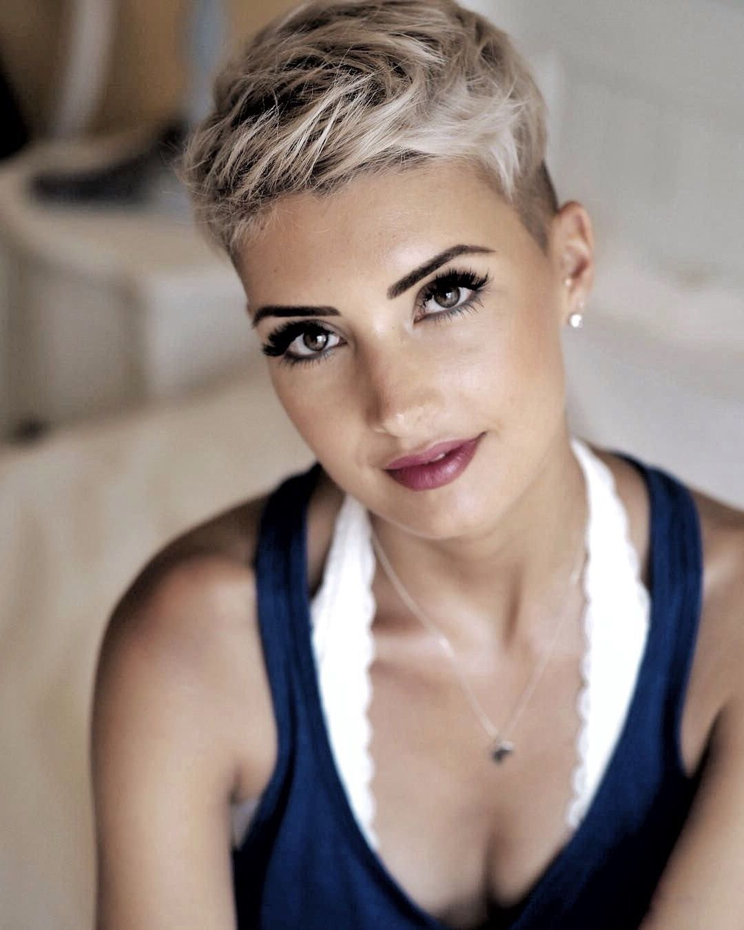 Hair pixie white blonde hairdo ideas in pinterest