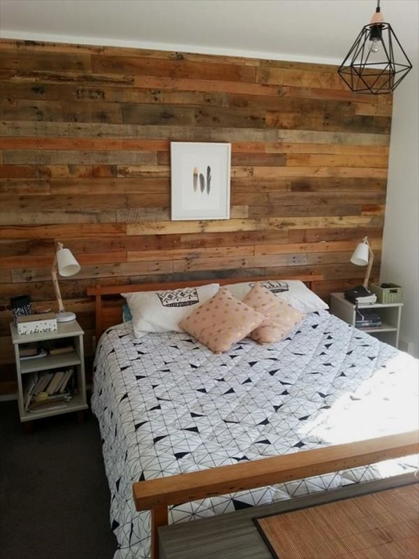 29 Creative Pallet Bedroom Furniture Designs You Can Use To Update