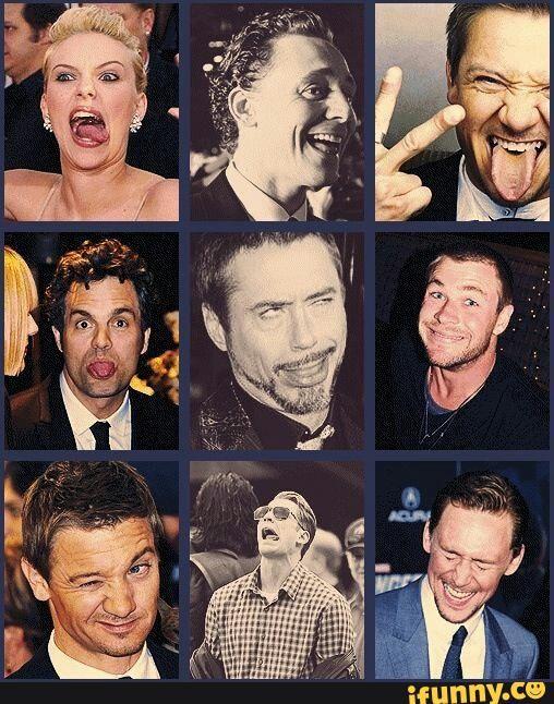 avengers, cast, lol, tumblr
