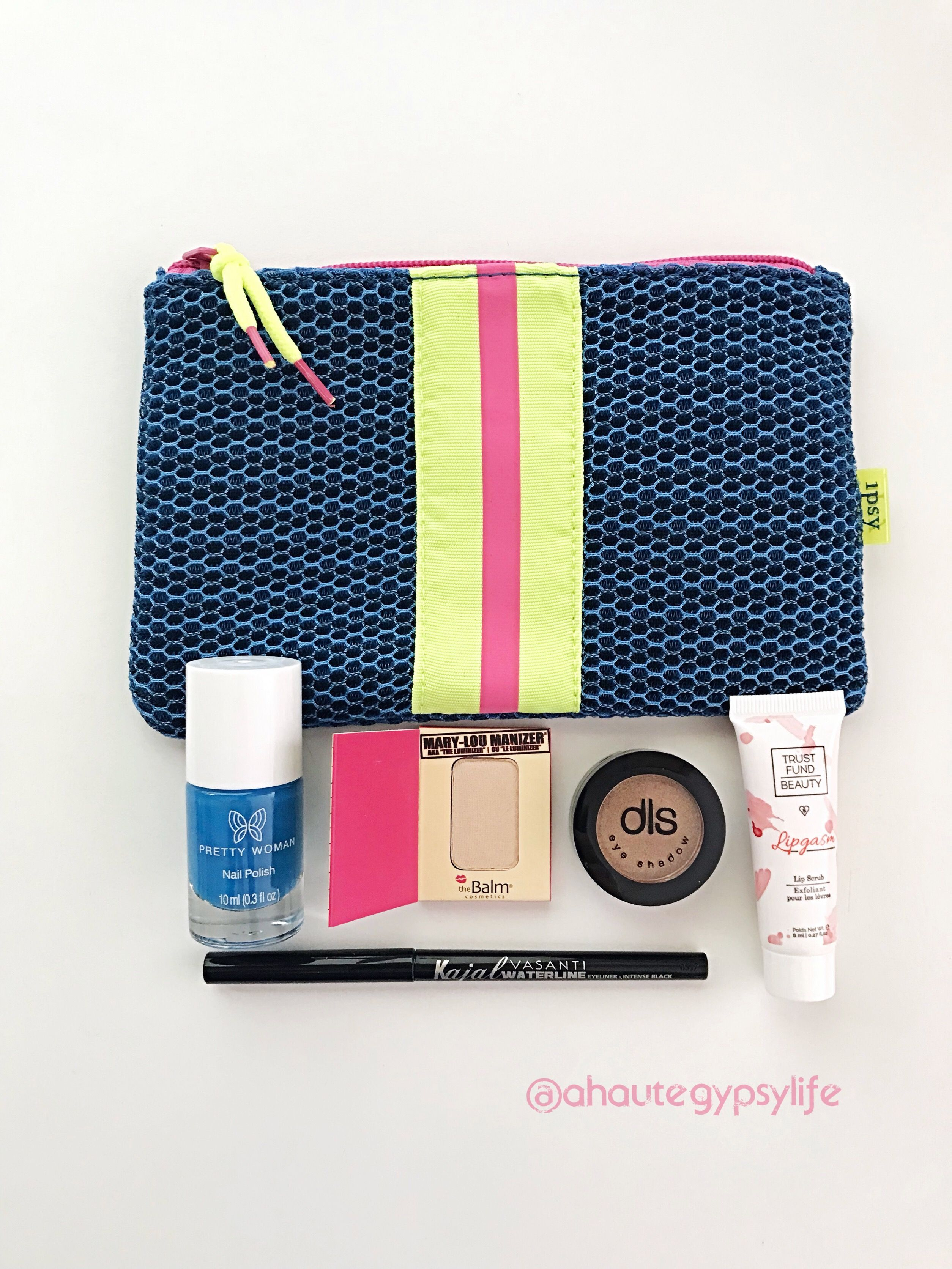 January Ipsy Glambag Monthly Beauty Makeup Box With Full Sized Deluxe Products Great Value For Money A Way To Build Out Your