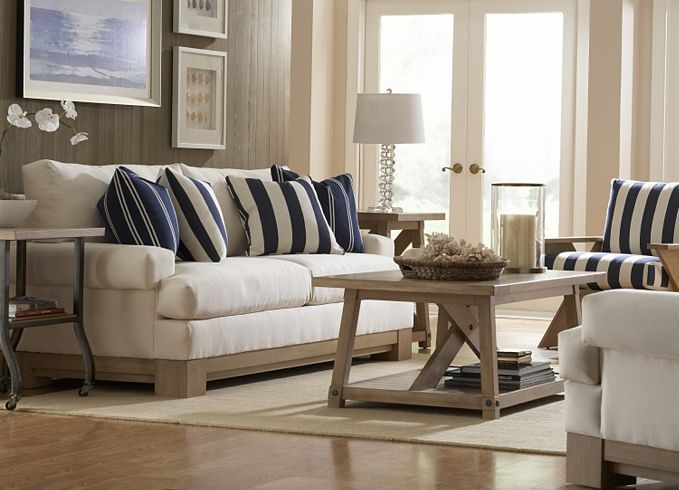 North Shore Collection By Nautica | Coastal Chic By Havertys Furniture |  Pinterest | North Shore, Room And Living Rooms