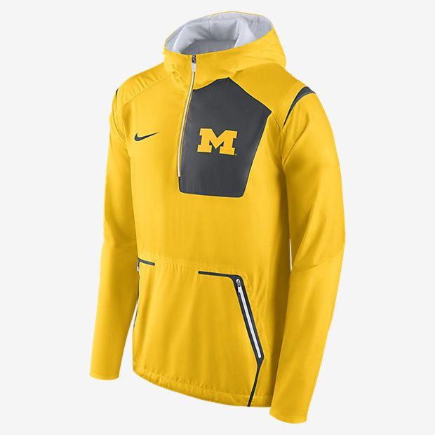 4bf6bfadc17 Nike College Alpha Fly Rush (Michigan) Men s Jacket