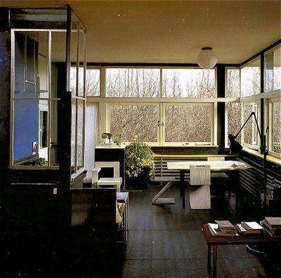 rietveld schröder house interior - Google Search | Arquitectura ...