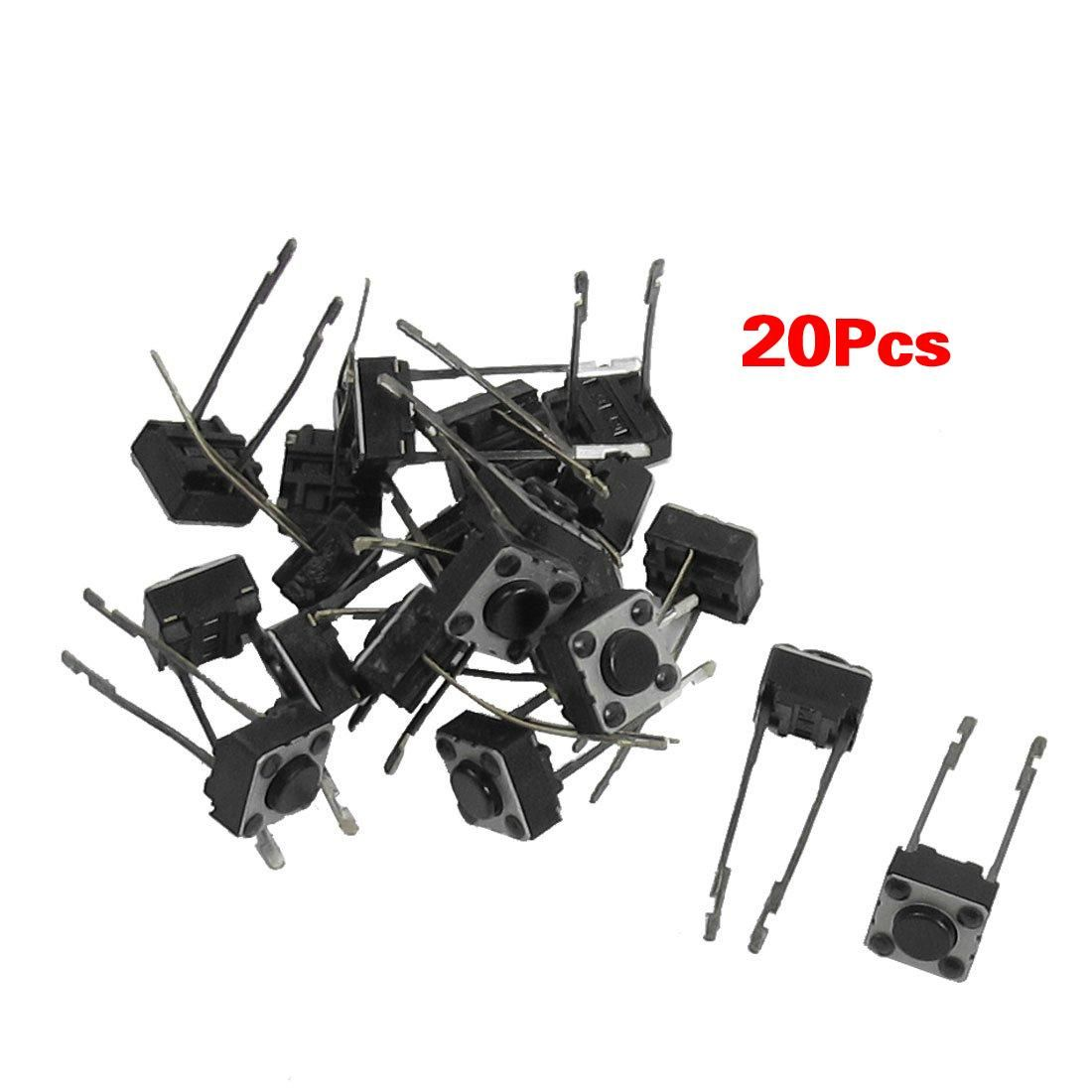 Visit To Buy 20 Pcs 6x6x4mm Momentary Tactile Push Button Switch 2 Pin Dip Through Advertisement Electrical Equipment Tactile Electricity