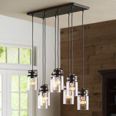 Chromeo 5 light kitchen island pendant birch lane lights and birch