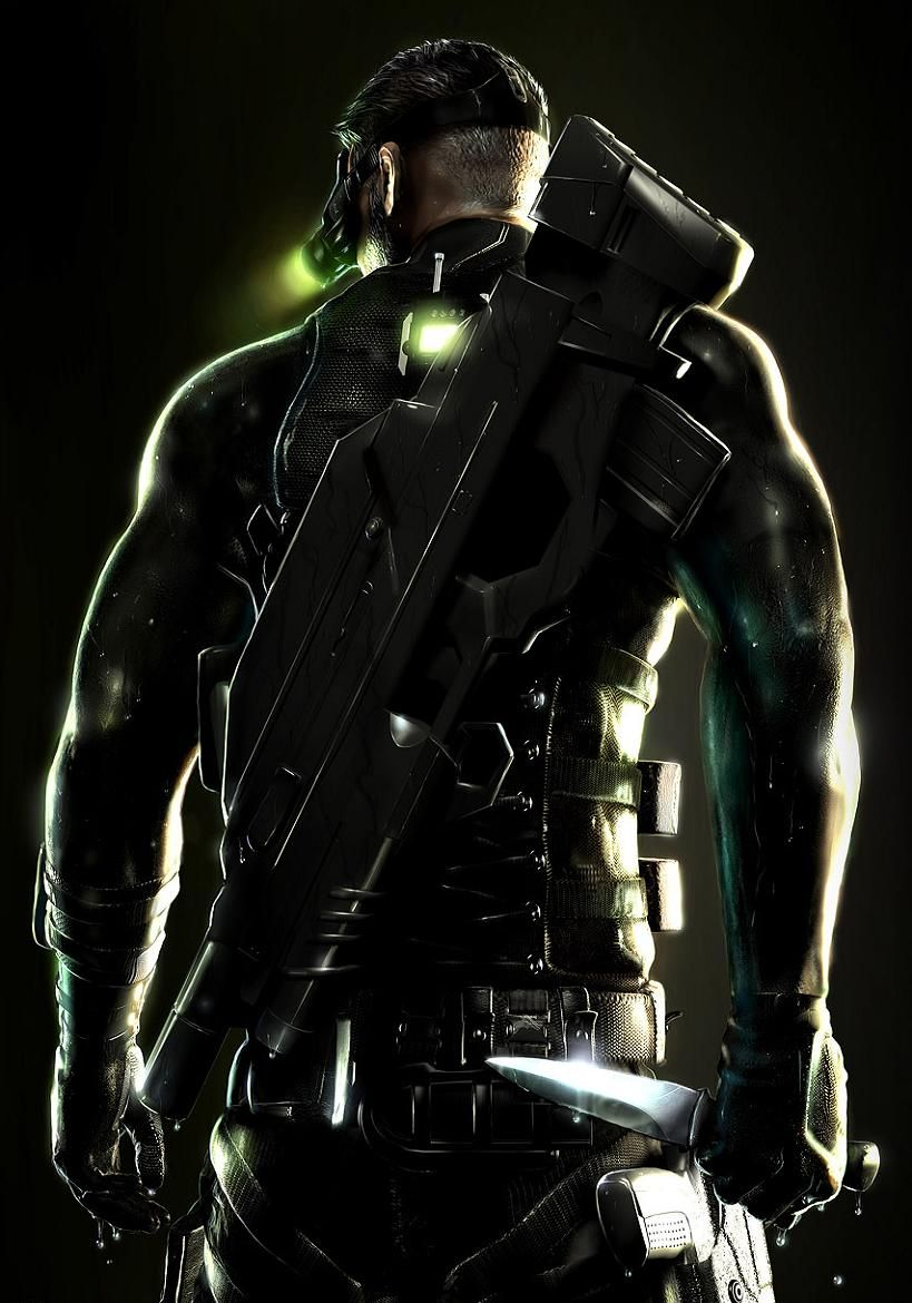 Splinter Cell Sam Fisher Mk V Tac Suit Tom Clancy S