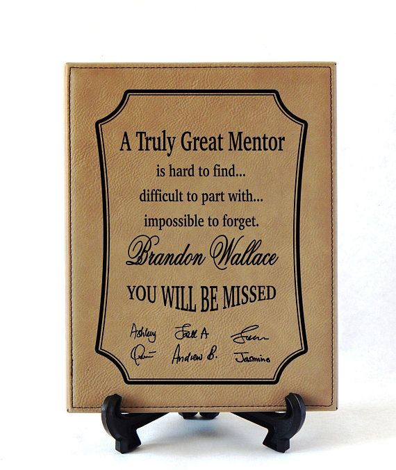 Wedding Gift For Boss: Gifts For Mentor Leaving