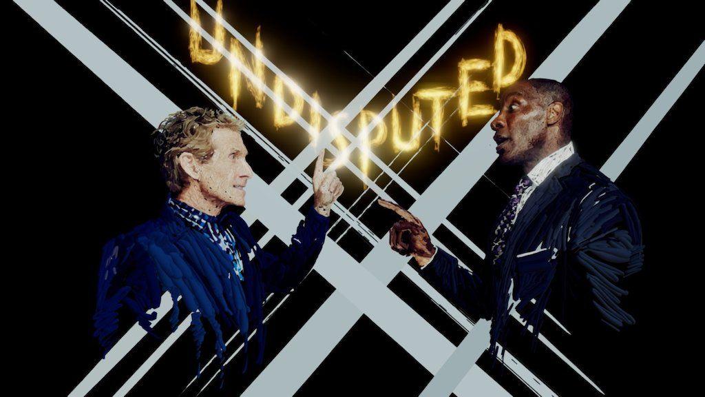 Fox Sports 1 'Undisputed' Portraits Tilt Brush by