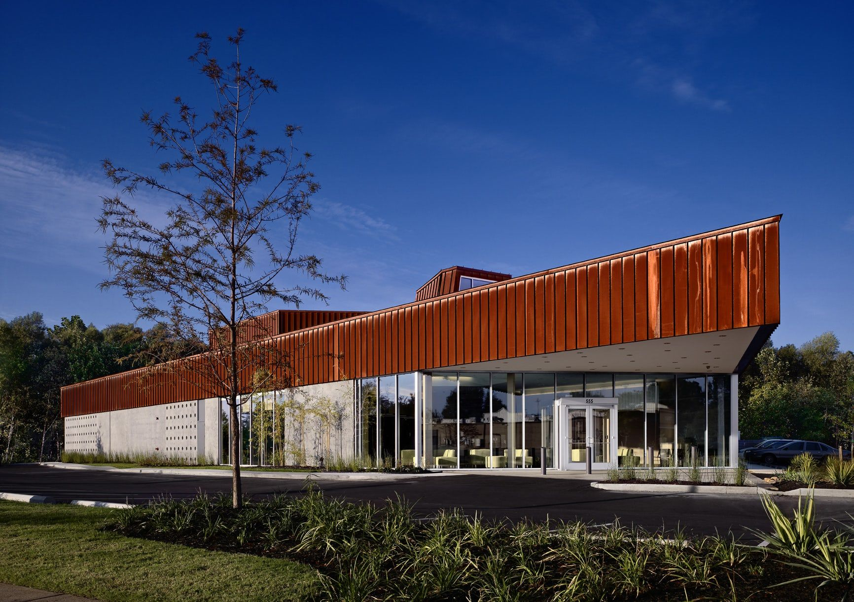 Memphis Veterinary Specialists Healthcare architecture