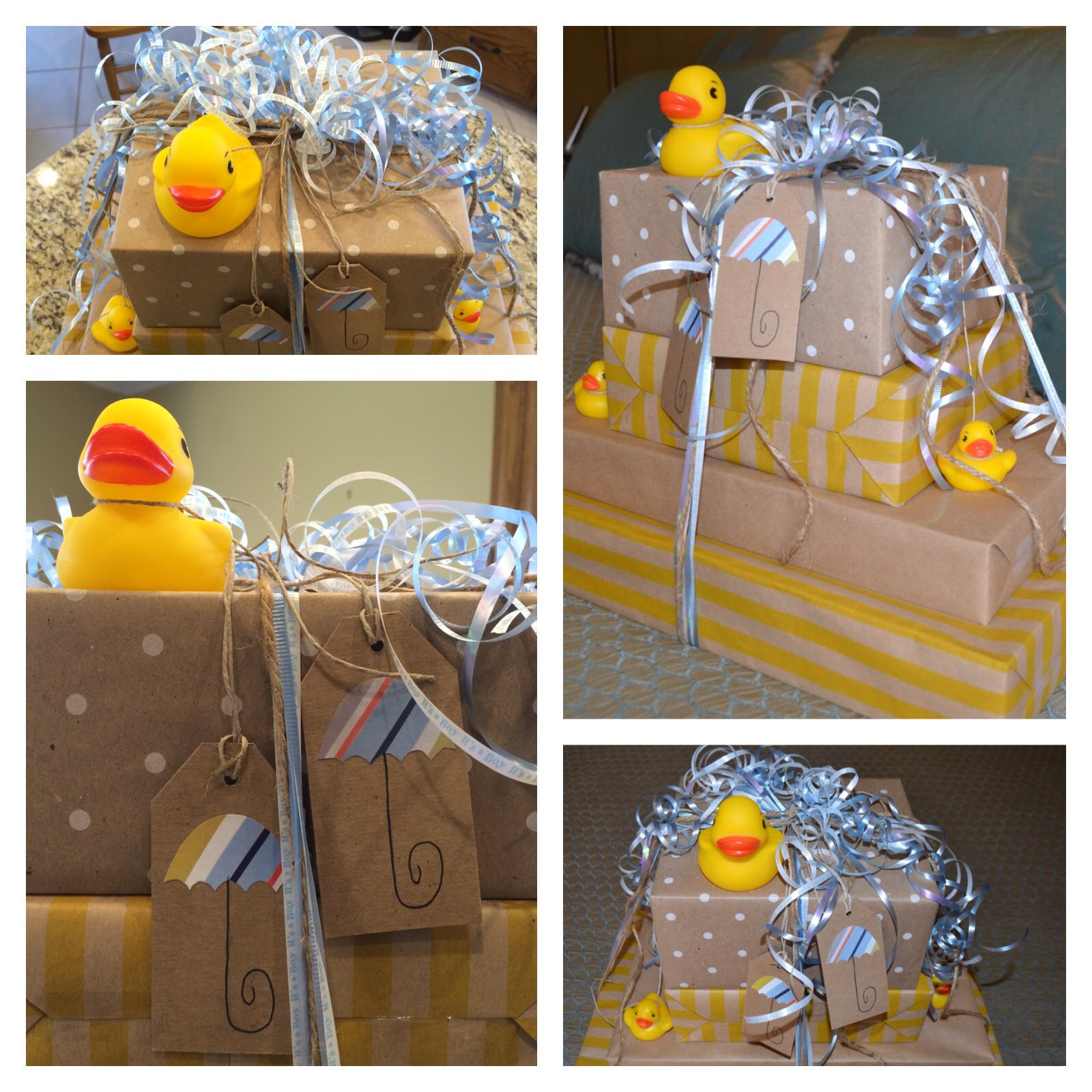 Pin By Valerie Fowler On Giftwrapping Baby Gift Wrapping Baby Shower Wrapping Baby Shower Gift Basket
