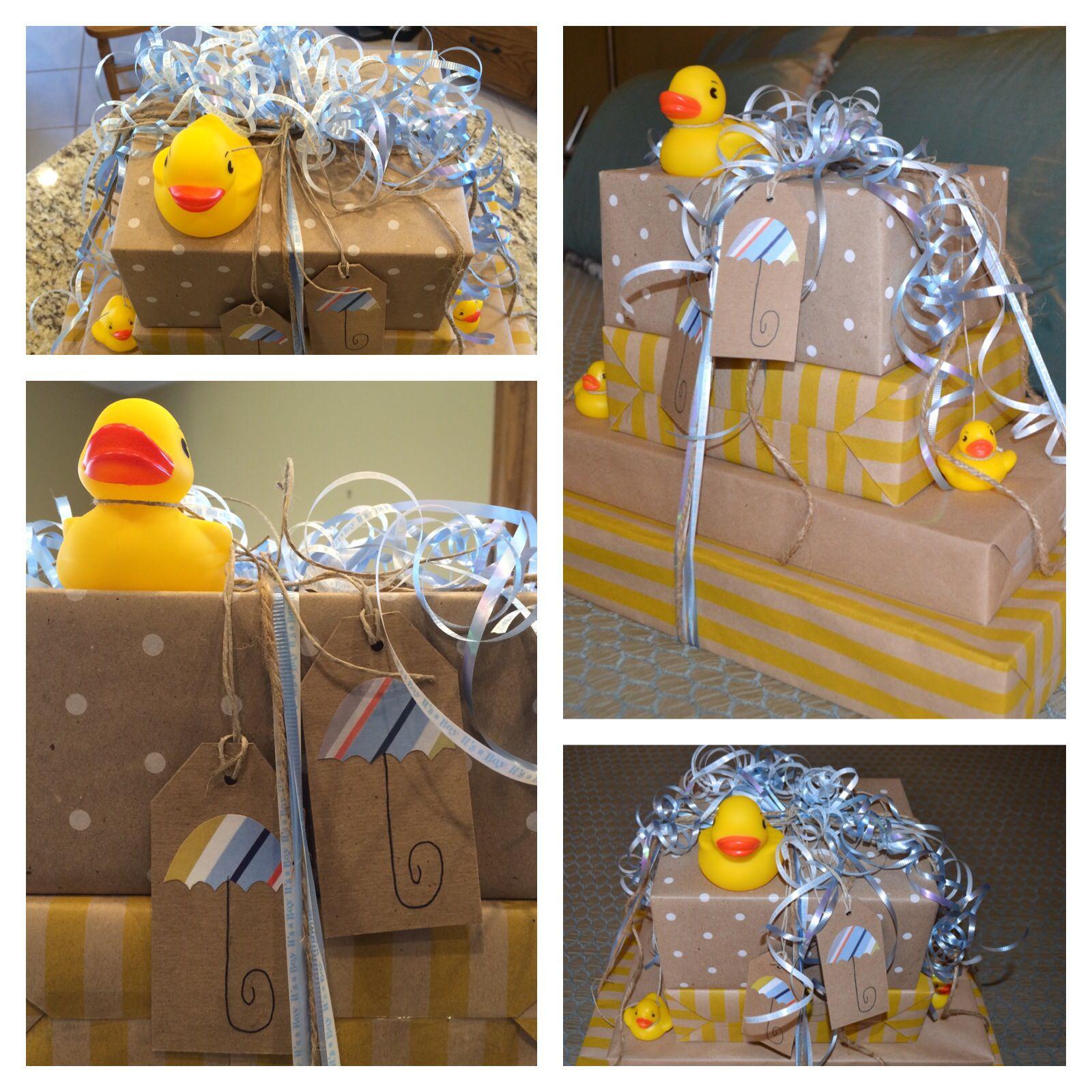 baby shower gift wrap | dollar tree supplies | craft paper ...