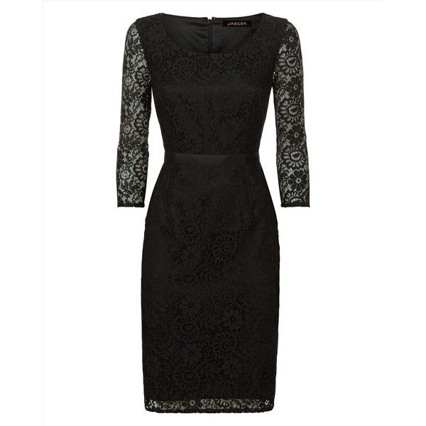 Jaeger Jaeger All Over Lace Dress 230 Liked On Polyvore