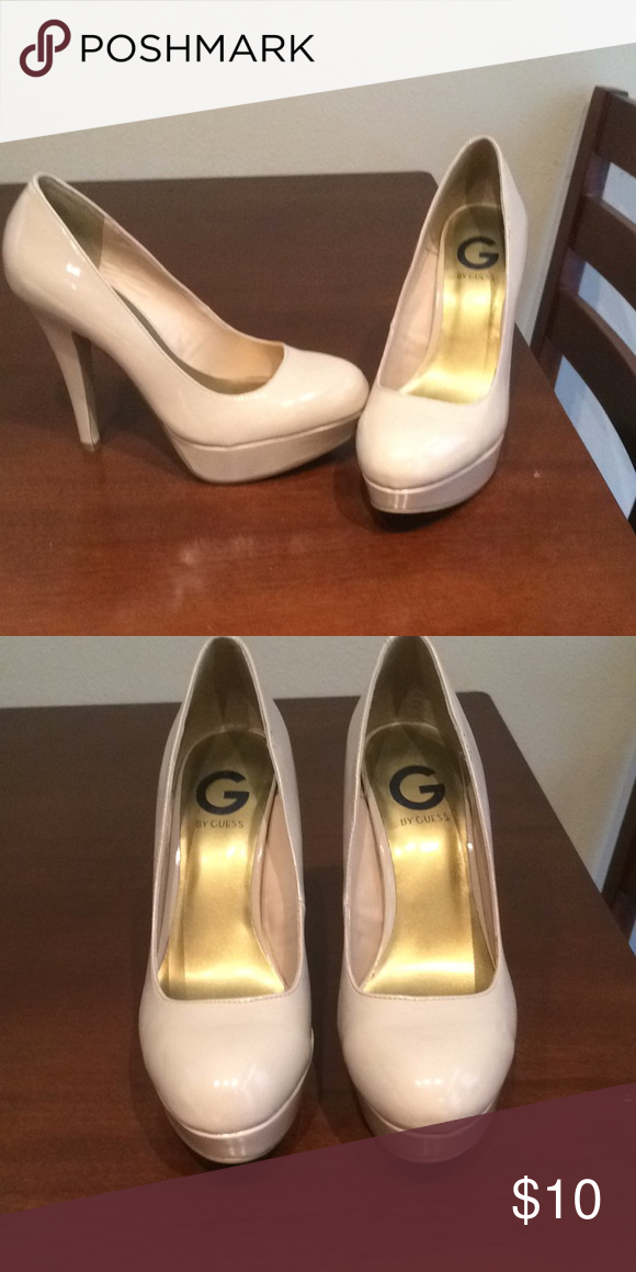 890e4b5a01e NWOT G by Guess nude platform heels A closet staple. Every girl needs a  sexy pair of nude heels. These have never been worn. G by Guess Shoes Heels