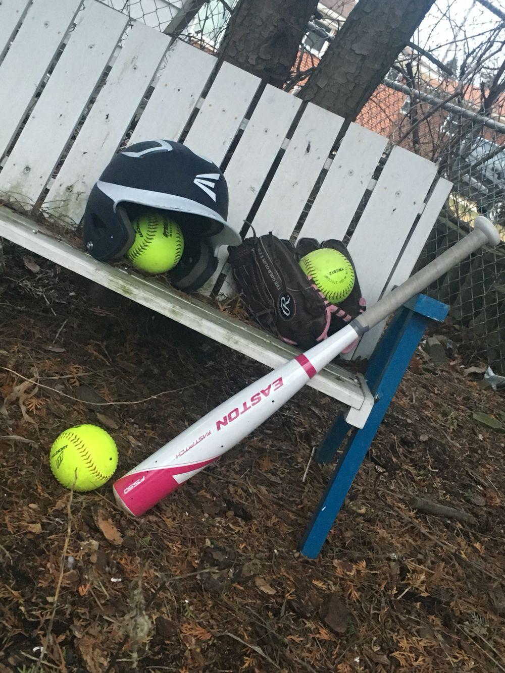 Gotta get the softballs
