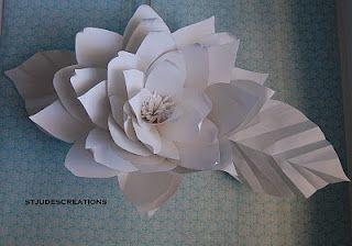 Chanel show inspired huge large white paper flowers backdrop paper chanel show inspired huge large white paper flowers backdrop handmade flowers mightylinksfo