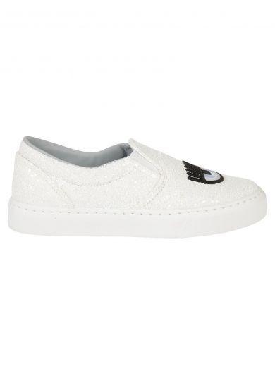 CHIARA FERRAGNI Chiara Ferragni Flirting Slip-On Sneakers. #chiaraferragni #shoes #https: