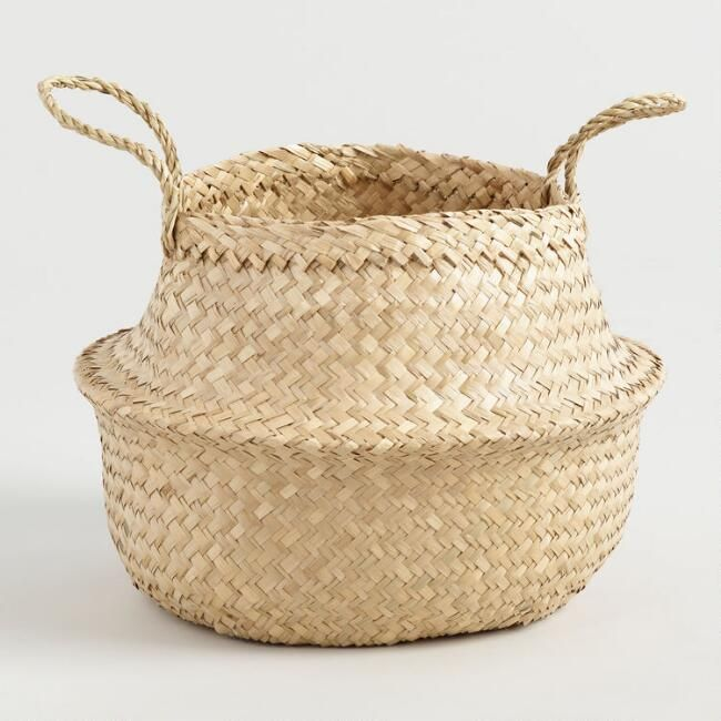 Natural Seagrass Floppy Emma Tote Basket - v1  sc 1 st  Pinterest & Natural Seagrass Floppy Emma Tote Basket - v1 | Inspiration ...