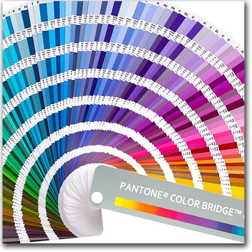 Pantone Color Bridge Book  Printing    Pantone Color