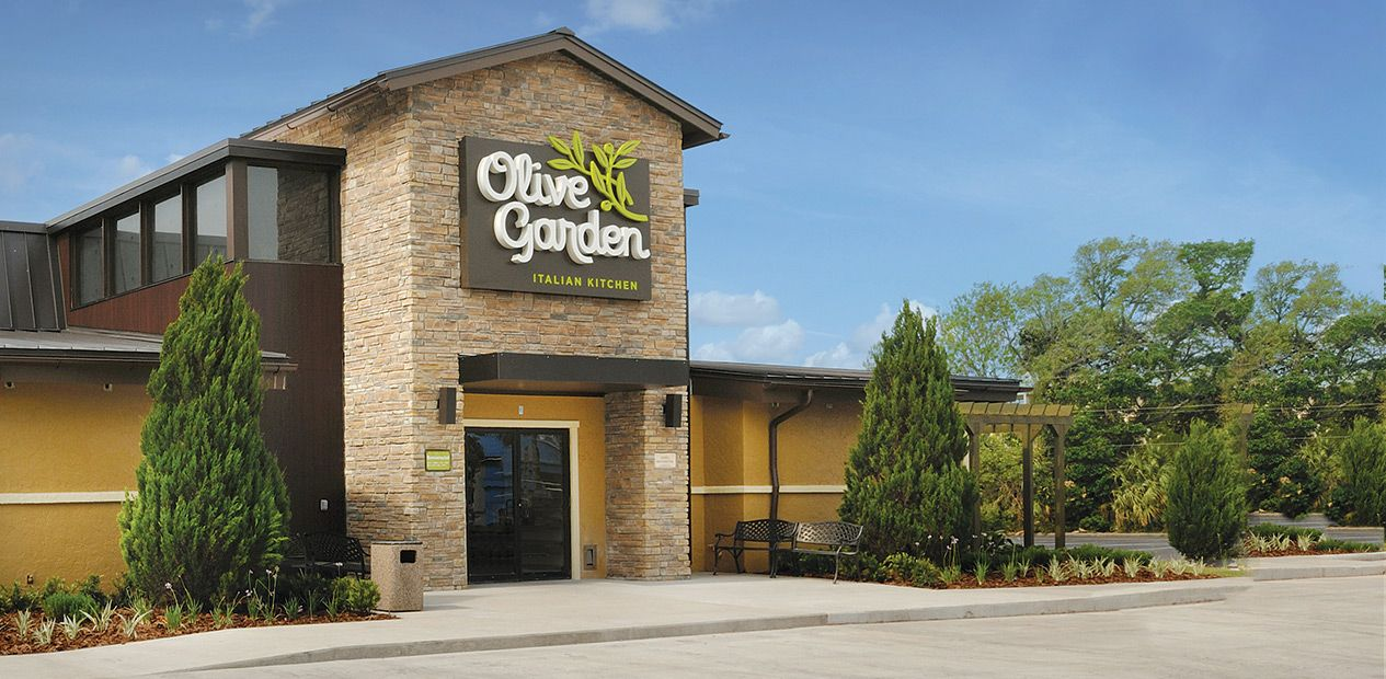 Tell the CEO of Darden Restaurants, Owner of Olive Garden