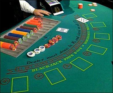 Learning What Is Seen And Hidden On Blackjack Tables Blackjack Casino Poker Casino
