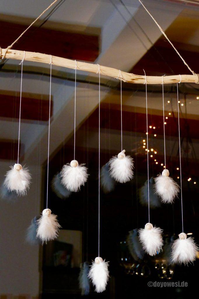 Federengel-Häkelmützen-Kollektion #weihnachtendekoration